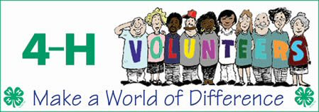 4-H Make a World of Difference - Volunteers