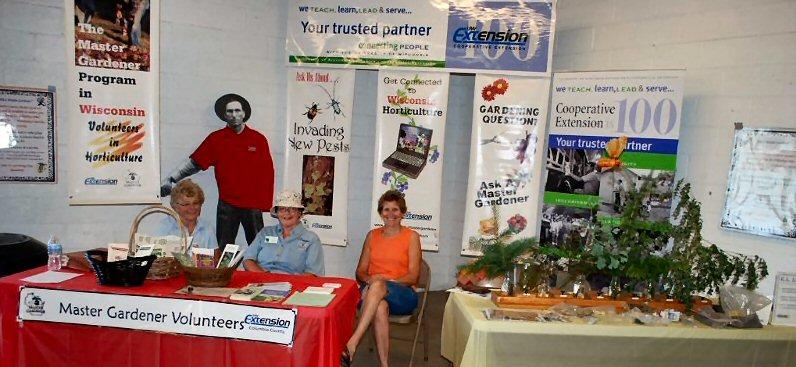 MG Booth at 2012 Fair